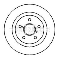 2x Brake Discs Pair Vented fits TOYOTA RAV-4 SXA11 2.0 Front 97 to 00 3S-FE QH
