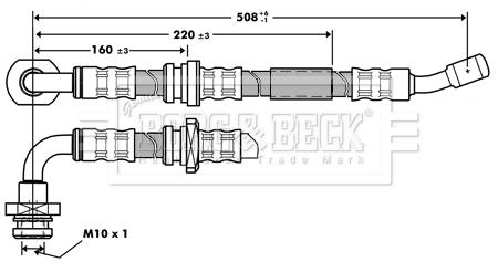 Front Brake Pad Set Fits Suzuki Jimny OE 5581057M00 Blue Print ADK84242