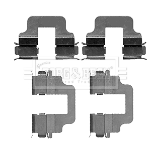Fits Ford Kuga 2.0 TDCi 4x4 Genuine Mintex Front Brake Caliper Fitting Kit