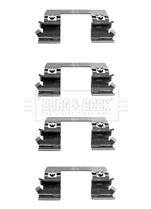 MERCEDES E270 W211 2.7D Brake Pad Fitting Kit Front 02 to 05 OM647.961 B/&B New