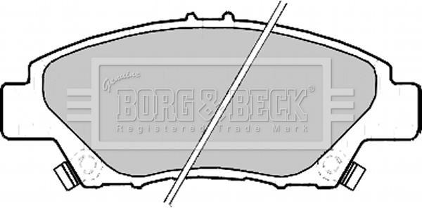 Brake Pads Set fits HONDA INSIGHT ZE2 1.3 Front 2009 on LDA3 B/&B 45022SNCE00 New
