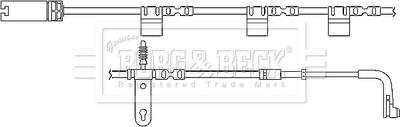 Brake Pad Wear Indicator Sensor fits MINI ONE R56 1.4 Front 06 to 10 N12B14A B/&B