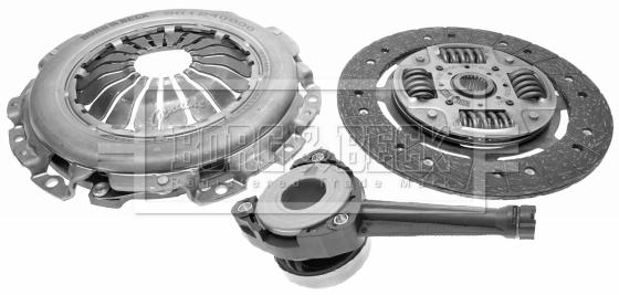 Cubierta + placa + CSC 240mm CK10260-21 Calidad Nacional Auto Parts Kit de embrague 3pc
