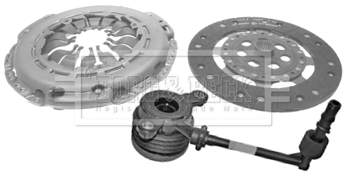 2005 on 225mm B/&B Cover+Plate+CSC RENAULT GRAND SCENIC Mk2 1.5D Clutch Kit 3pc