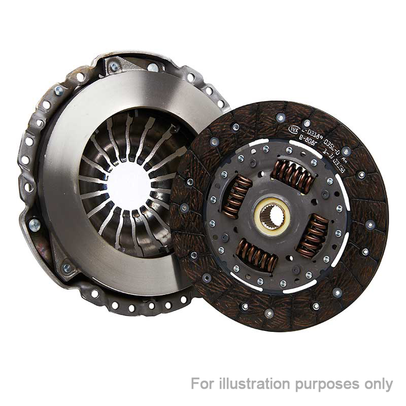 FORD TRANSIT 2.4D Clutch kit only for solid conversion 00 to 06 Manual B/&B New