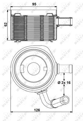 RENAULT-MEGANE-Mk2-1-5D-Oil-Cooler-02-to-10-K9K722-Radiator-NRF-8200068115-New