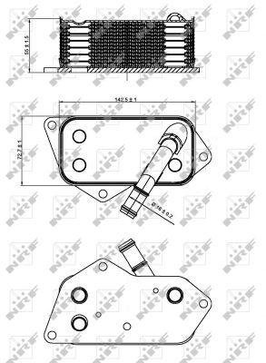 Oil-Cooler-fits-BMW-525-E60-E61-2-5-04-to-10-Radiator-NRF-11427525333-Quality