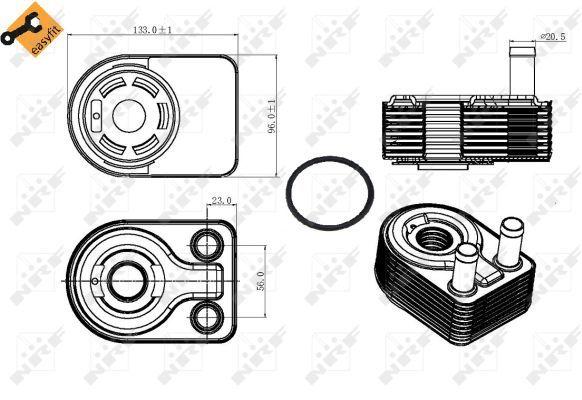 FORD-MONDEO-Mk5-1-0-Oil-Cooler-2015-on-Radiator-NRF-1761091-1844735-CM5G6B856EA