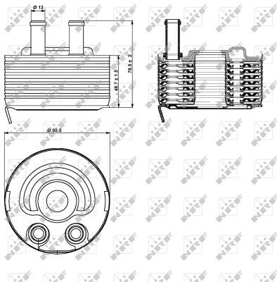 Oil-Cooler-fits-NISSAN-NP300-D22-2-5D-2008-on-YD25DDTi-Radiator-NRF-21305EB300
