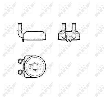 PEUGEOT-407-6E-2-0-Oil-Cooler-2004-on-Radiator-NRF-1103J2-1103N0-Quality-New