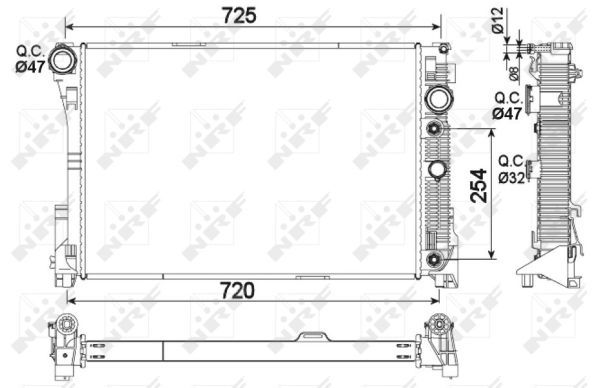 20 Pcs Gray Plastic Car Trim Clips Rivet Fastener 6mm Hole 26mm Head W8P2 M6D1