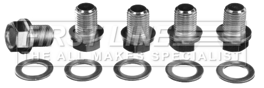 Oil Drain And Oil Caddy Mail: VW CADDY 9K 1.9D Sump Plug 95 To 04 Oil Drain Firstline