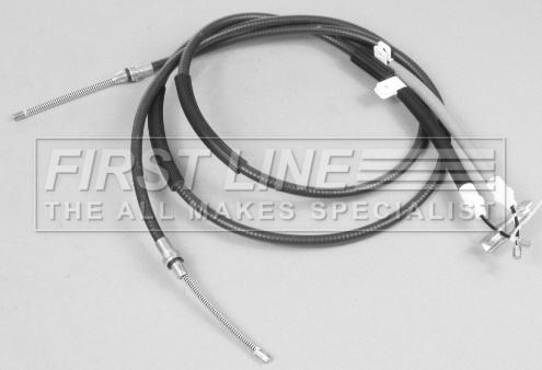 FORD FIESTA Mk4 1.4 Handbrake Cable Front 96 to 02 Hand Brake Parking B/&B New