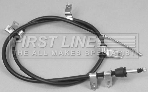 Handbrake Cable fits HYUNDAI SANTA FE Mk1 Rear Left 2.0 2.0D 01 to 06 Hand Brake
