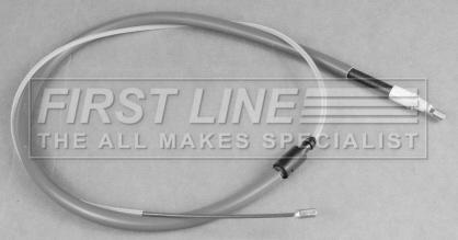 TU1JP Hand Brake CITROEN C2 JM 1.1 Handbrake Cable Left or Right 2005 on HFX