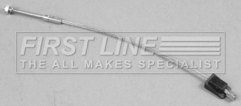 FORD FIESTA Mk5 1.3 Handbrake Cable Front 01 to 08 Hand Brake Parking FirstLine
