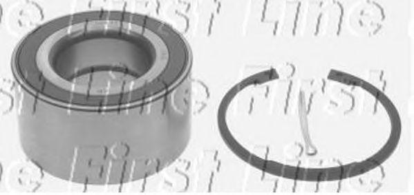 VAUXHALL MERIVA B 1.6D Wheel Bearing Kit Front 2013 on Firstline 13500488 New