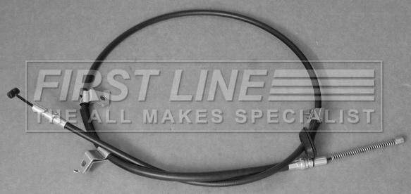 Brake Cable fits HONDA JAZZ Mk2 1.2 Left 04 to 08 Hand Brake Firstline Quality