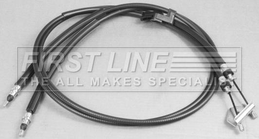 Handbrake Cable Rear FKB2985 First Line Hand Brake Parking 30742642 31257680 New