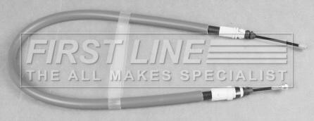 Handbrake Cable Rear FKB3162 First Line Hand Brake Parking 474656 474670 474677