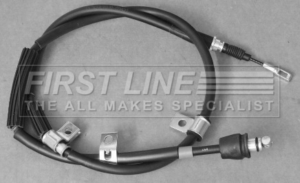 Handbrake Cable fits HYUNDAI i30 FD Left 1.6 1.6D 07 to 11 Hand Brake Parking