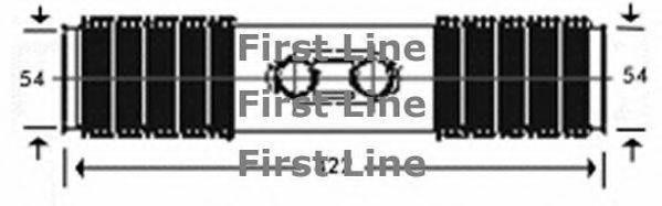 Steering Rack Boot fits DAEWOO LANOS KLAT 1.3 1997 on 311160RMP Gaiter Bellow