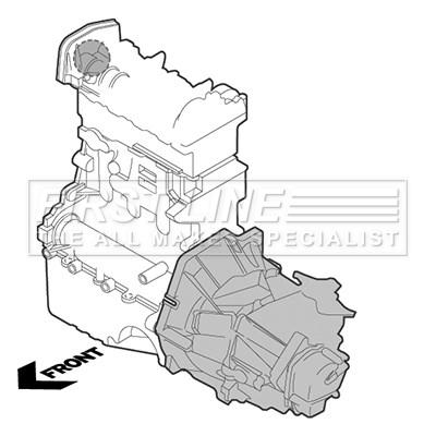 Dacia Logan Ks0k 1 5d Engine Mount Upper Right 2007 On 6942137rmp