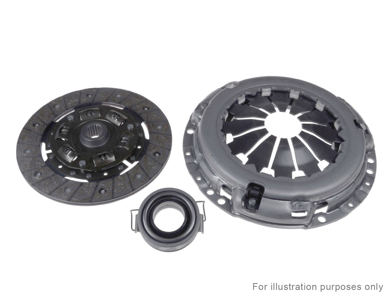 RENAULT 18 20 Fuego 1978-1986 3pc CLUTCH KIT QKT244AF Check Compatibility