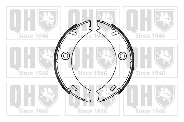 MERCEDES ML270 W163 2.7D Brake Cable Rear Left 99 to 05 OM612.963 Hand Brake QH