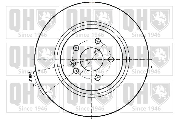 MDC2239 NEW MINTEX REAR SOLID BRAKE DISCS SET PAIR