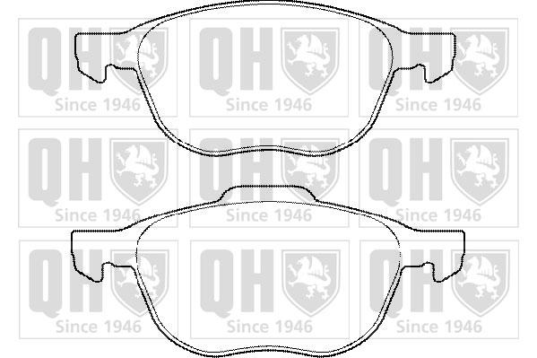 VOLVO S40 MK2 Brake Pads Set Front 2.0 2.0D 2004 on QH 30681739 30683554 Quality