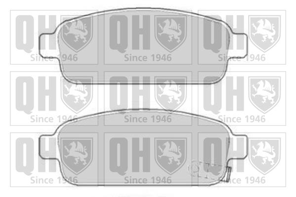 CHEVROLET CRUZE J305 1.6 Brake Pads Set Rear 2011 on QH 13404405 13411380 New