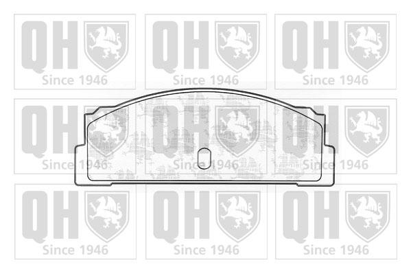 FIAT X1/9 128 1.5 Brake Pads Set Rear 78 to 89 QH 4173122 4204052 4236416 New