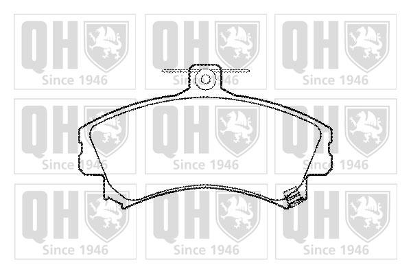 Brake Pads Set fits MITSUBISHI COLT Z23 1.5 Front 06 to 09 4A91 QH MR235557 New