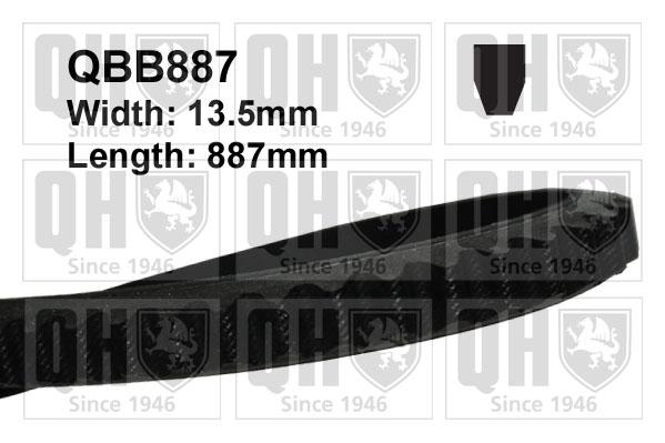 Iveco Daily Mk2 2.8D Courroie D/'entraînement 96 To 99 145445 RMP Fan QH Qualité Remplacement