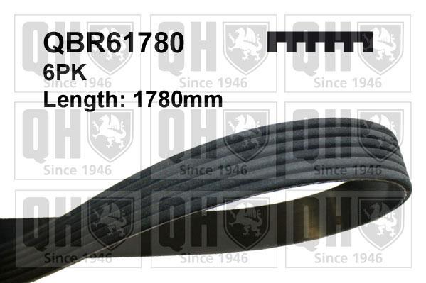 Multi V Drive Belt fits BMW 325 E92 3.0D 09 to 13 N57D30A QH 11288507416 8507416