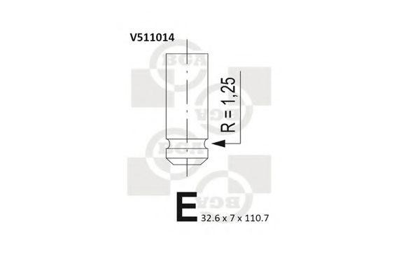 OPEL VIVARO A 1.9D Exhaust Valve 01 to 06 BGA 7700110389 30889403 7701471703 New