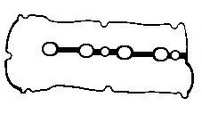 Rocker Cover Gasket fits MAZDA 323 Mk5 1.5 1994 on Z5 BGA Quality Replacement