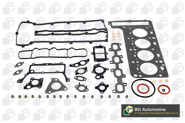 MERCEDES C220 S204 2.1D Sump Gasket 08 to 14 BGA Genuine Top Quality Replacement