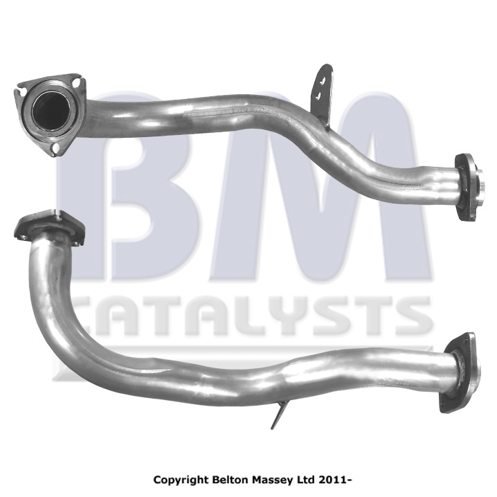 Fitting Kit Included Fit with HONDA ACCORD Exhaust Fr Down Pipe 70491 2.2