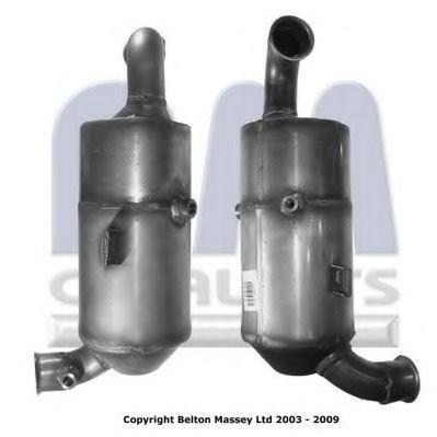 Citroen C4 Ua 16d Diesel Particulate Filter Dpf 2006 On Soot Bm