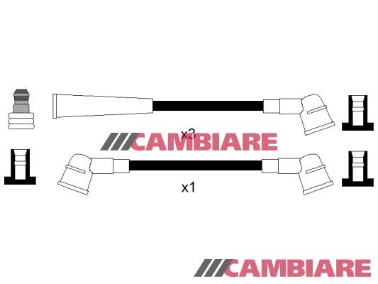 FORD KA 1.6 HT Leads Câbles D/'AllumAge Set 03 To 08 Bosch 1319060 1319 061 1319062