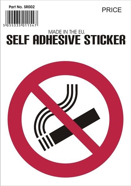 No-Smoking-Sticker-V37-Castle-Genuine-Top-Quality-Product-New