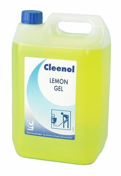Cleenol Lemon Gel Floor Cleaner 5l 0418l2x5 Standard