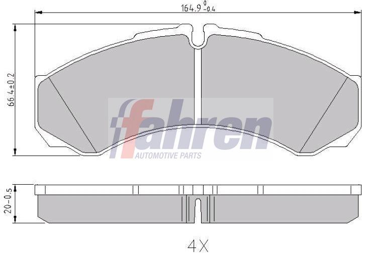 Pour chrysler pt cruiser 2000 /> neuf avant arrière disques de frein set et disc pads kit