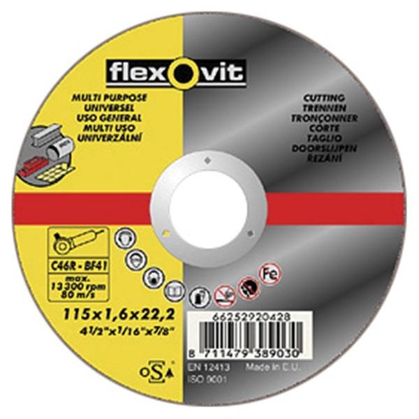 Flexovit Multipurpose Cutting Disc 125mm 66252926776