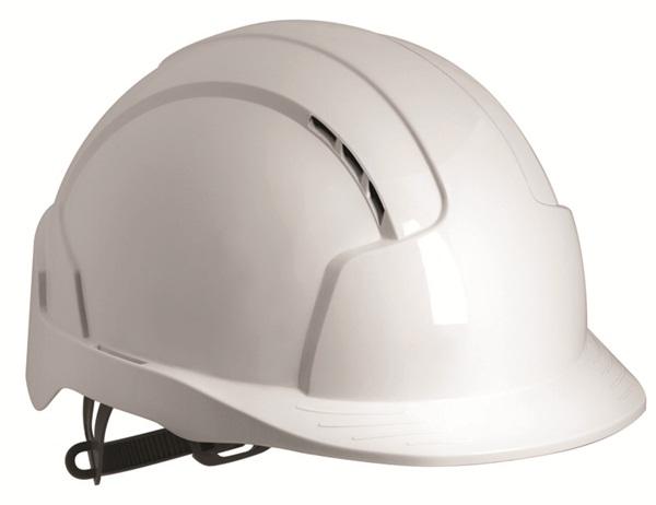 Jsp Evolite Vented Helmet White Ajb160 000 100 Head