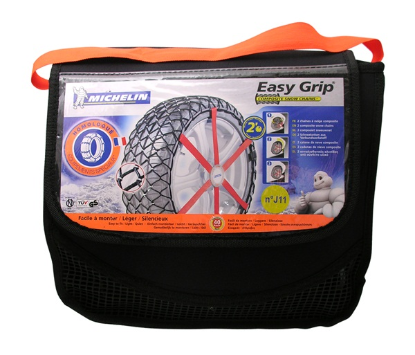 michelin 2x easy grip snow chains l13 7904 fit many 14 15 16 tyres new ebay. Black Bedroom Furniture Sets. Home Design Ideas