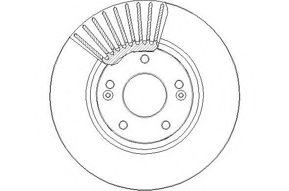 2x Brake Discs (Pair) Vented Front 300mm NBD1753 National Auto Parts Set Quality