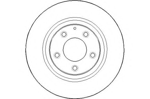 Details about 2x Brake Discs (Pair) Vented Rear 302mm NBD1622 National Auto  Parts Set Quality